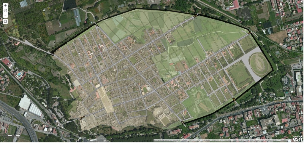 A Geographical Information System for Pompeii
